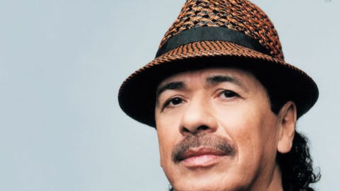 Santana / Earth, Wind & Fire: Miraculous Supernatural 2021 Tour