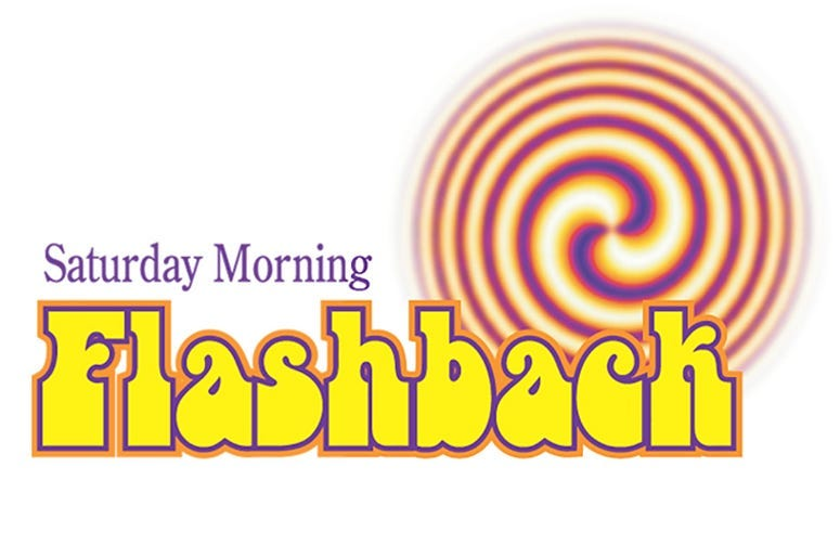 Saturday Morning Flashback Logo