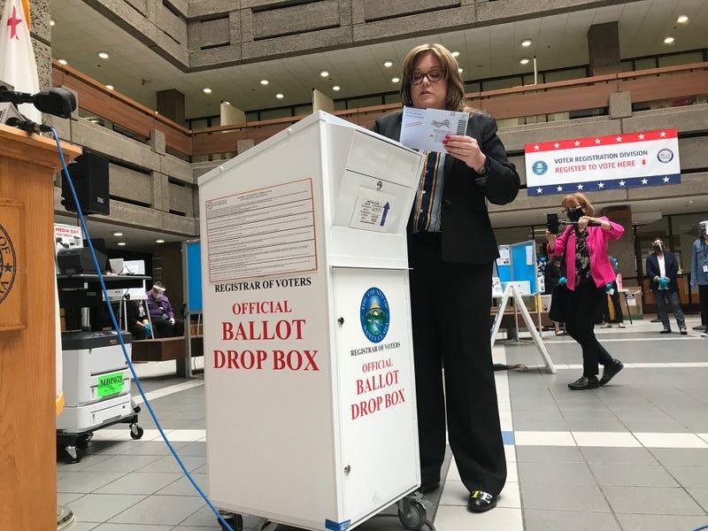 Santa Clara County registrar of voters Shannon Bushey