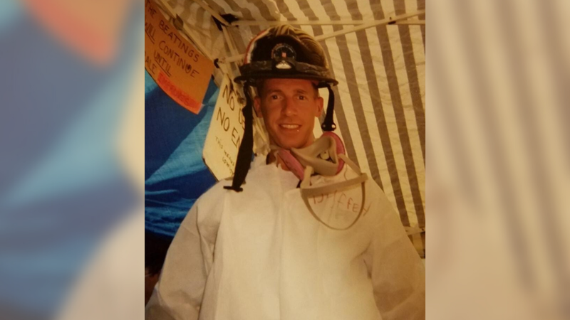 Scott Duffey was a part of the FBI evidence response team at the Pentagon after 9/11.