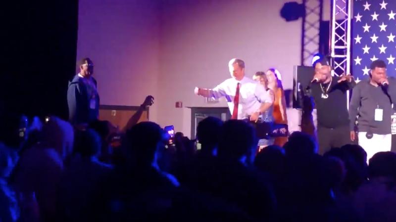 Tom Steyer dancing