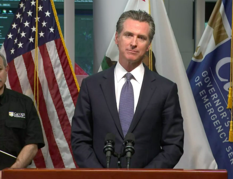 Gov. Gavin Newsom declared a shelter-in-place order for all of California, beginning March 20, 2020.