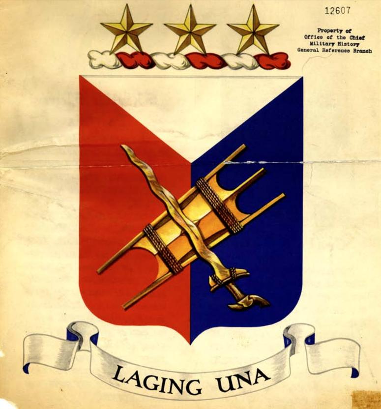 1st Filipino Regiment's Distinctive Unit Insignia