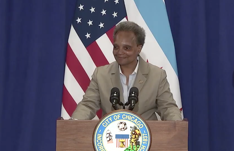 In a press conference Monday, Mayor Lightfoot reminded residents COVID-19 is still prevalent.