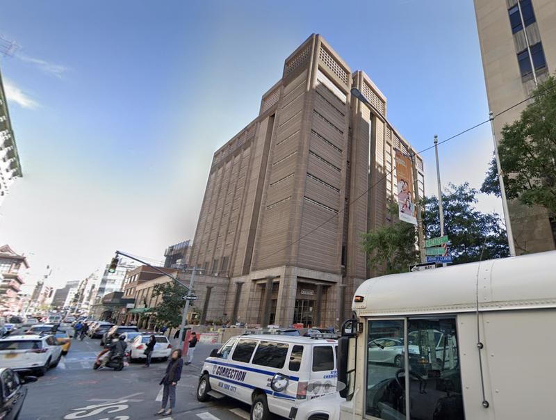 Manhattan jail