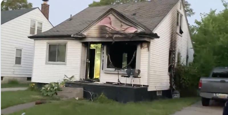 Detroit House Fire