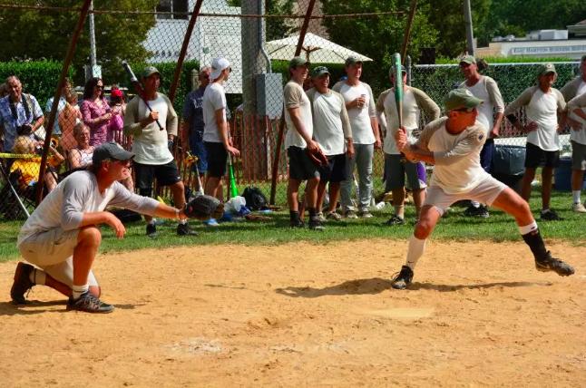 East Hampton Artists & Writers Annual Softball Game