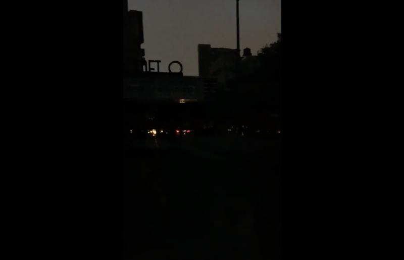 Manhattan power outage