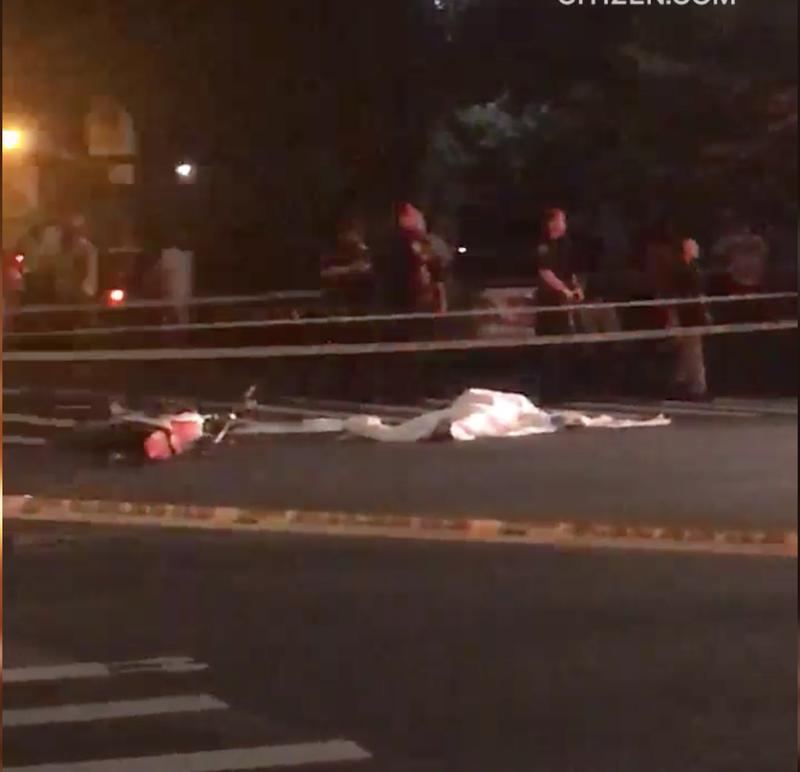 Bronx motorcycle crash
