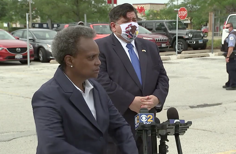 Chicago Mayor Lori Lightfoottook questions Monday followingthe overnight crime that happened in Chicago'sdowntown area.