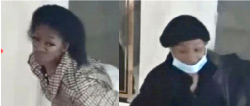 Police released surveillance photos of suspects wanted for allegedly looting PINK, 835 N. Michigan Ave.
