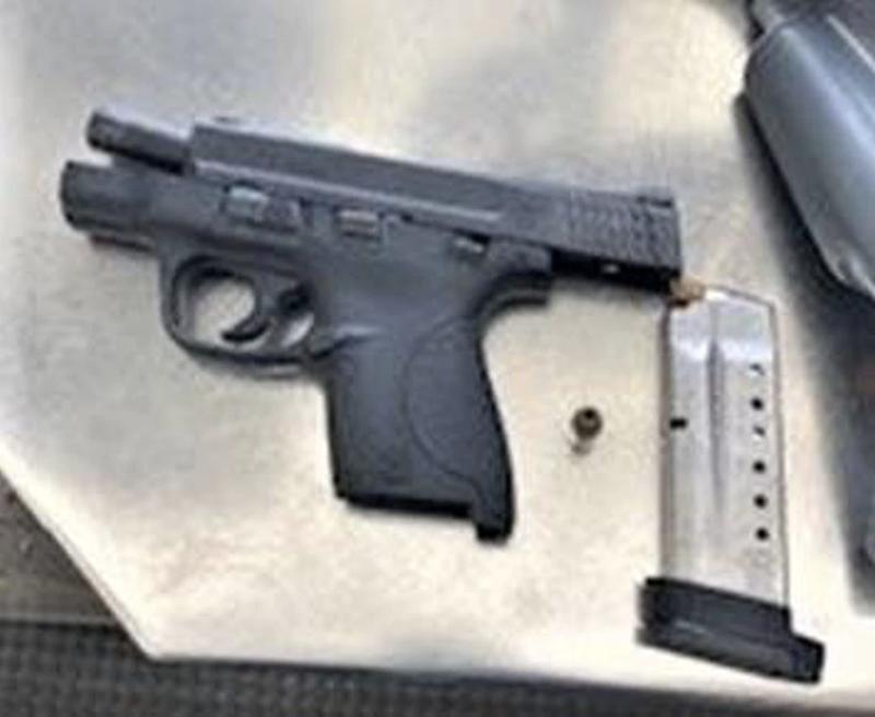 TSA gun confiscated at Newark Airport
