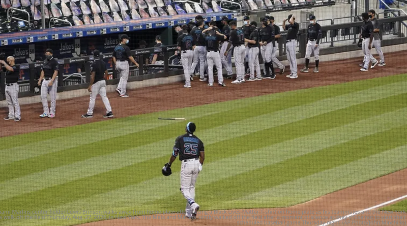 Mets, Marlins Walk off
