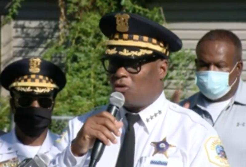 Chicago Police Superintendent DavidBrown