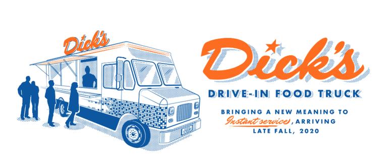 Dick's food truck