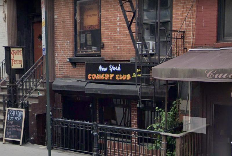 NY. Comedy Club
