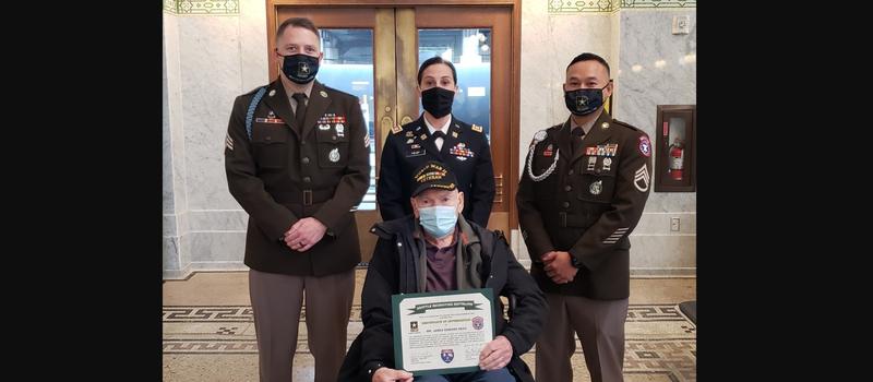 Army recruiters help WWII Veteran fulfill lifelong dream