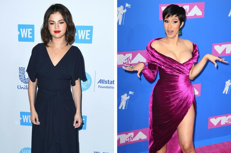 Selena Gomez Cardi B Tease New Taki Taki Music Video With Dj