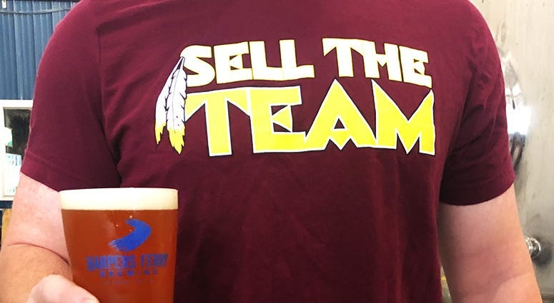 VA brewer takes aim at Dan Snyder with 'Sell The Team!' IPA