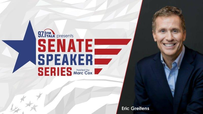Senate Speaker Series | Eric Greitens