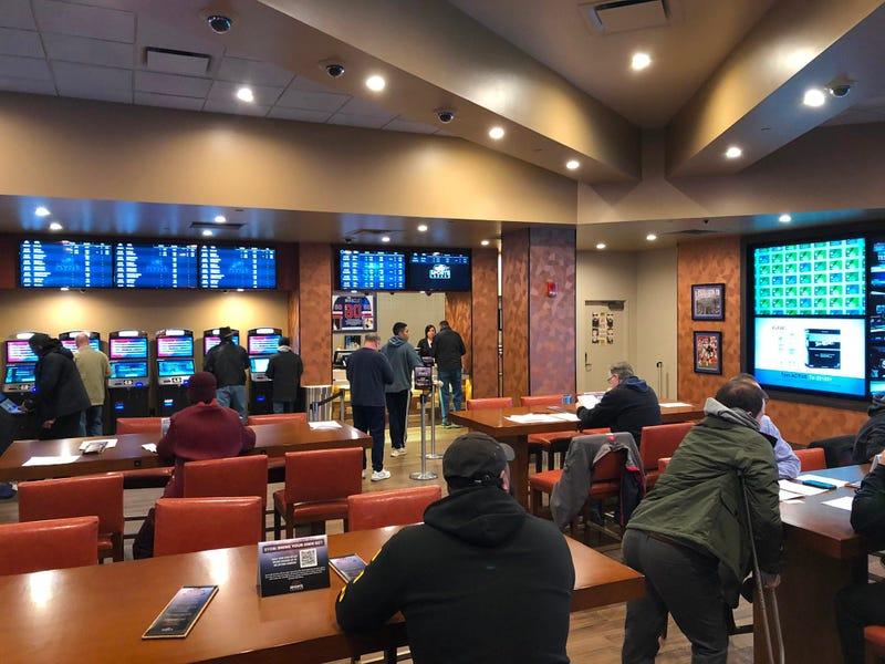 Sports Lounge at Seneca Buffalo Creek Casino. January 30, 2020 (WBEN Photo/Mike Baggerman)