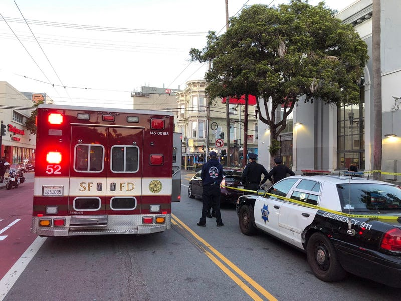 Three injured in Mission District crash