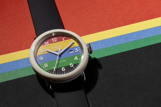 Shinola Detroit watch to benefit healthcare workers