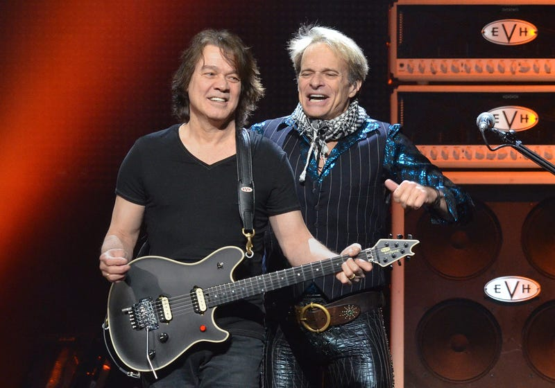 30 March 2012 - Pittsburgh, PA - Singer DAVID LEE ROTH and guitarist EDDIE VAN HALEN of the legendary rock group VAN HALEN perform on a stop of their US Tour held at the CONSOL Energy Center. Photo Credit: Devin Simmons/AdMedia /Sipa USA