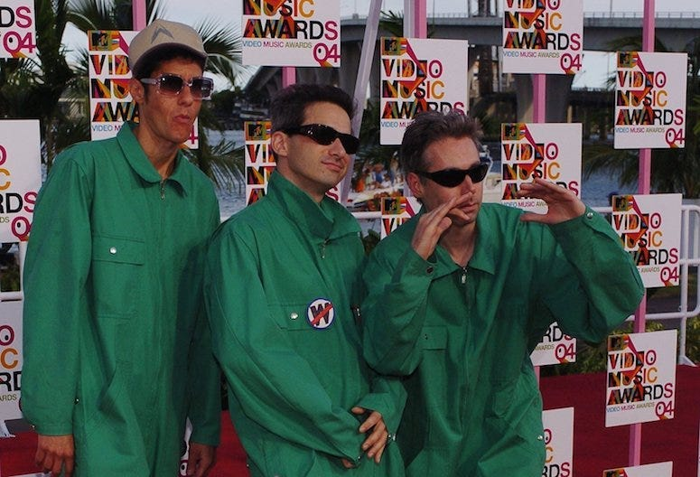 Beastie Boys, Red Carpet, MTV Video Music Awards, Mike D, AD-Rock, MCA, 2004