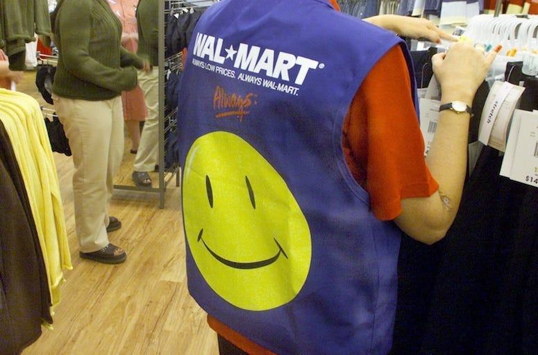WalMart, Employee, Vest, Clothing Department, 2004