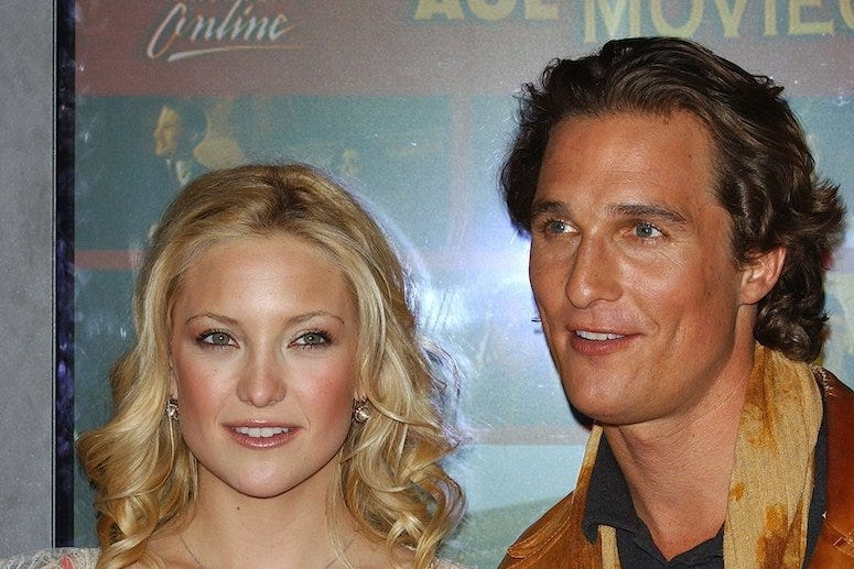 Kate Hudson, Matthew McConaughey, Red Carpet, 2003