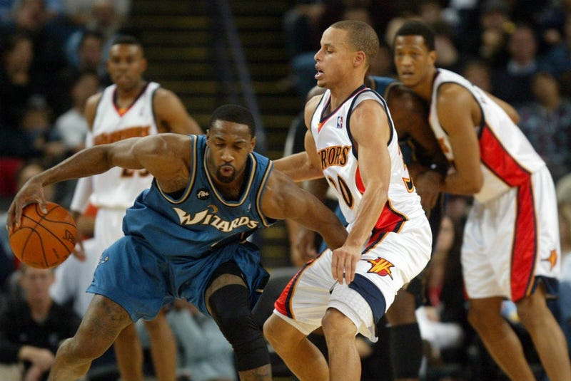 Agent Zero Gilbert Arenas signs with the Big3.