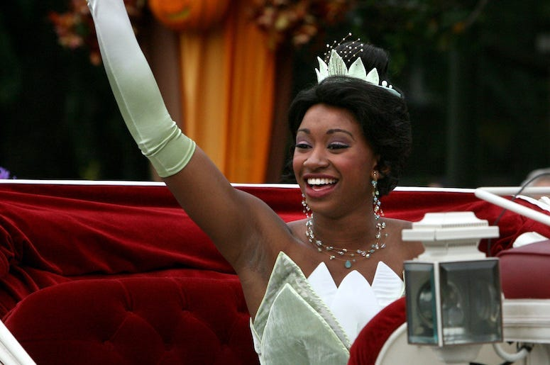 Princess Tiana, Carriage, Waving, Walt Disney World, Magic Kingdom, 2009