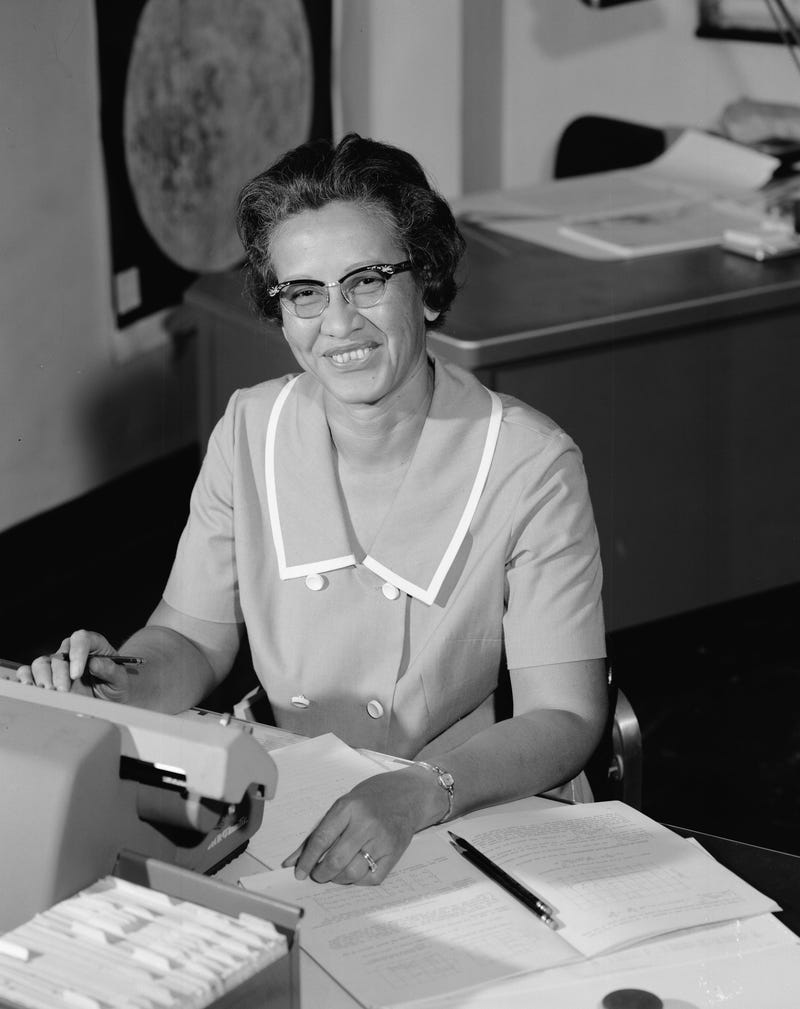 NASA: Mathematician Katherine Johnson at Work
