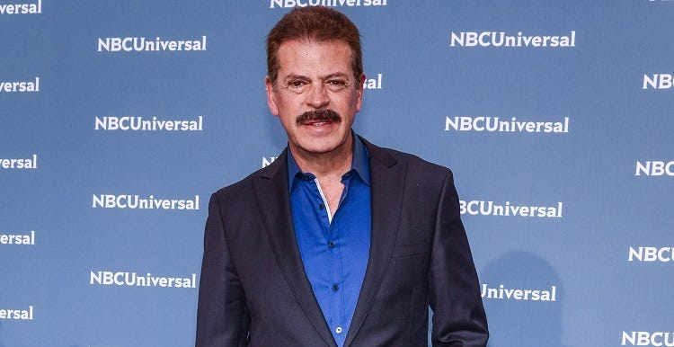 Sergio Goyri during the NBCUniversal 2016 Upfront Presentation to Feature Stars of Cable Entertainment, NBC Broadcast, News, Sports and Telemundo Networks held at Radio City Music Hall in New York, NY on May 16, 2016.