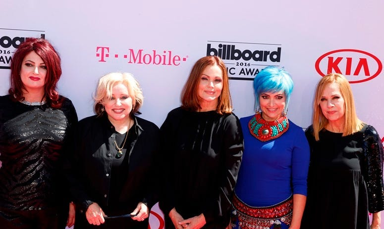 22 May 2016 - Las Vegas, NV - The Go-Gos. 2016 Billboard Music Awards from the T-Mobile Arena - Arrivals