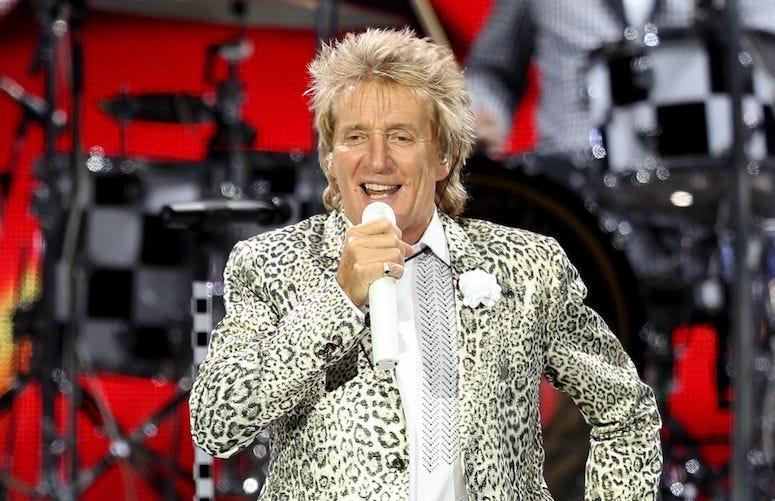 Rod Stewart, Concert, Singing, Nottingham Motorpoint Arena, 2016