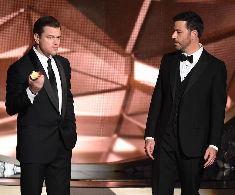 matt damon, jimmy kimmel, tom brady, windows breaking, hilarious
