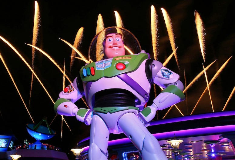 Buzz Lightyear, Toy Story, Disney, Hollywood Studios, Fireworks, 2018