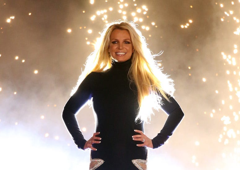 Britney Spears, Concert, Las Vegas, Lights, Bright, 2018