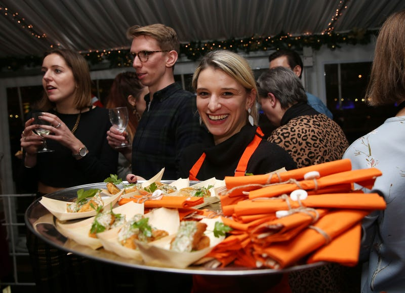 Guests during the launch of Quorn new Vegan Fishless Fillets range, which it sets its sights on the high seas with a healthy and sustainable take on British classics