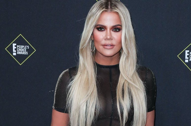 Khloe Kardashian, Red Carpet,  2019 E! People's Choice Awards
