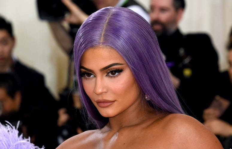 Kylie Jenner, Red Carpet, Purple Hair, 2019