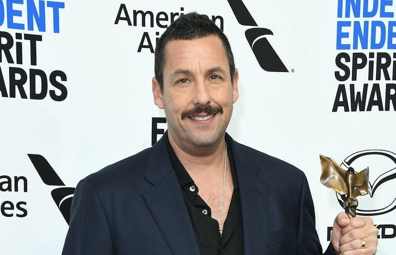 Adam Sandler, Film Independent Spirit Awards, 2020, Mustache