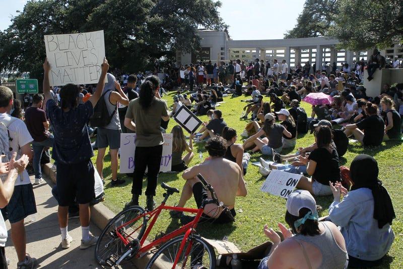 BLM Protest In Dallas
