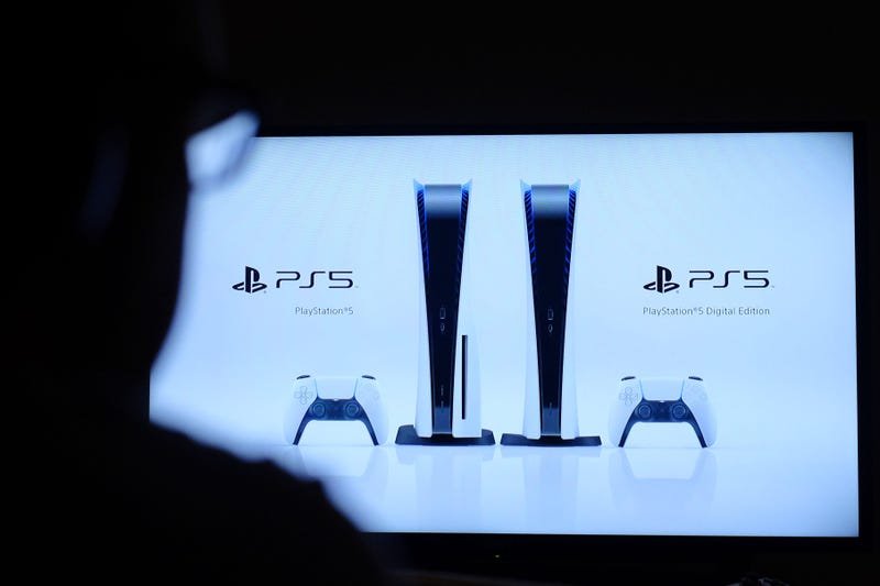 6/11/2020 - A man watches the PlayStation livestream reveal for the new PS5 console due to launch Autumn 2020. Photo credit should read: Katie Collins/EMPICS (Photo by PA Images/Sipa USA) *** US Rights Only ***