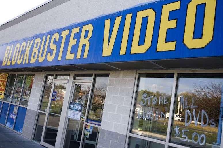 Blockbuster Video, Storefront