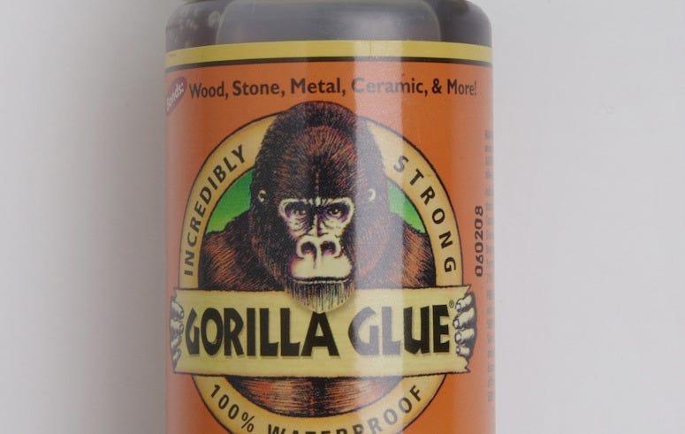 Bottle of Gorilla Glue