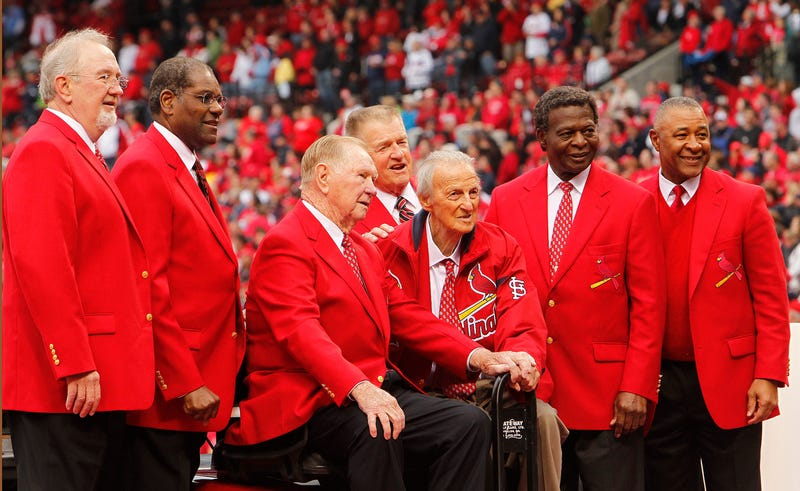 Cardinals Hall of Famers