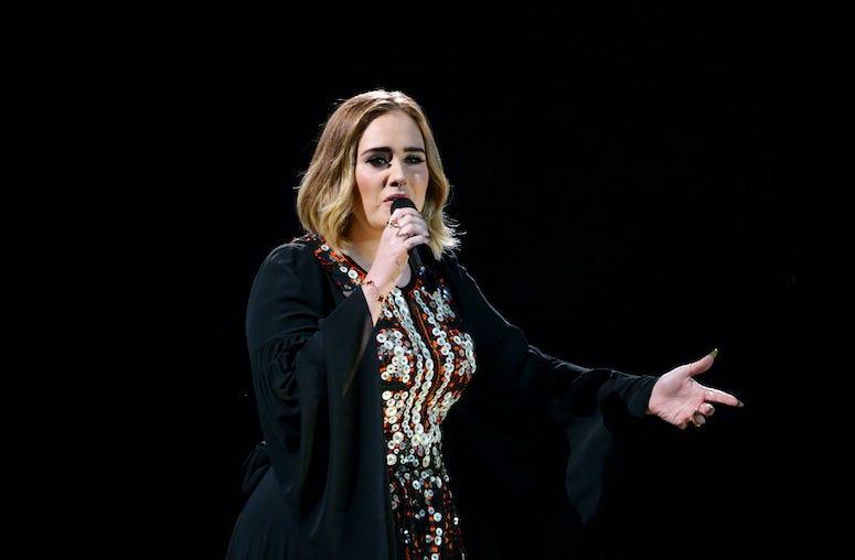 Adele, Singing, Concert, 2016